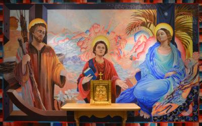 Un retable de la Sainte Famille pour la chapelle des Vignes