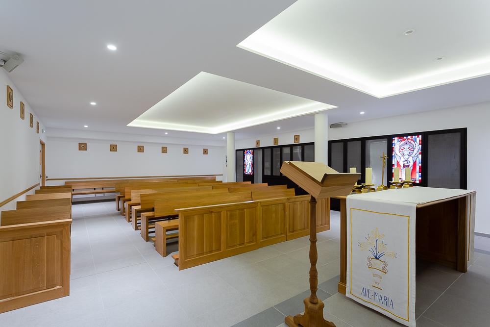 Bénédiction de la nouvelle chapelle du collège