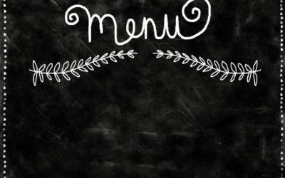 Les menus de la semaine du 21 septembre